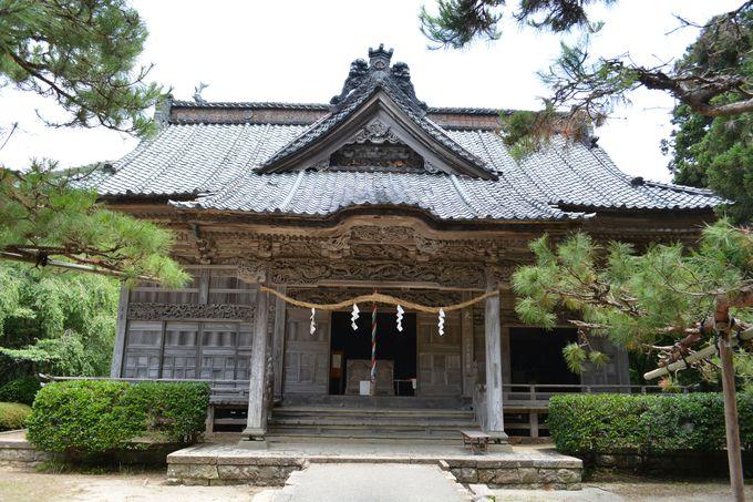 国仲平野を代表する神社