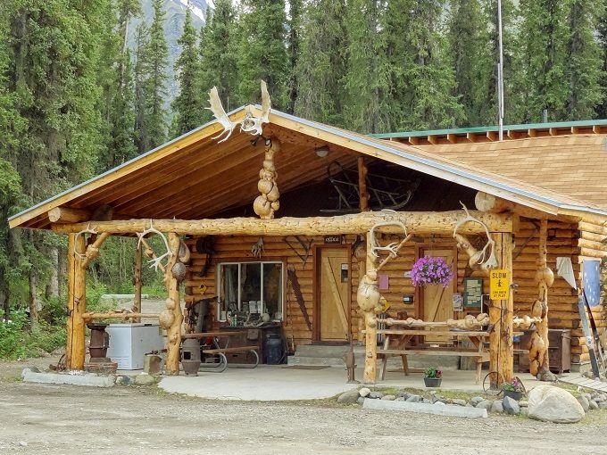 アラスカでログハウスに泊ろう!デナリ「カルロクリークロッジ」