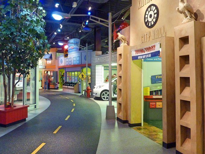 カラフルな街でお仕事体験!「ヒューストン子ども博物館」