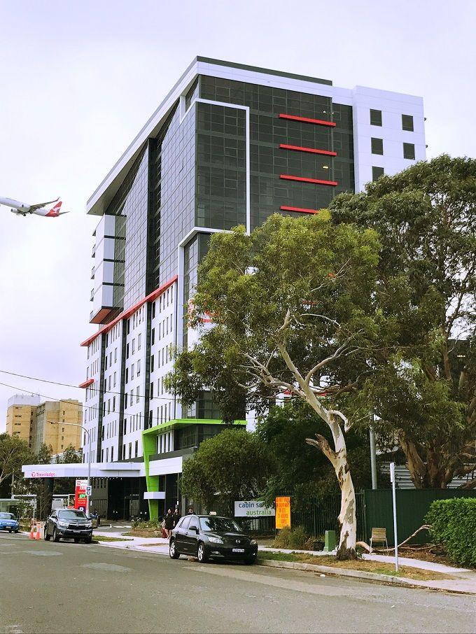 「トラベロッジホテル」はシドニー空港まで500m!