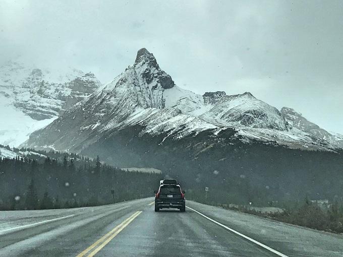 世界屈指の絶景ドライブコースで氷河に触れる