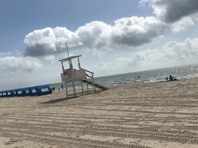 中心街の美的撮影スポット「マギービーチ」