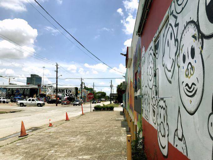 「グラフィティパーク」は壁画だらけの観光スポット