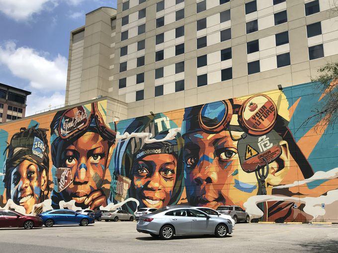 実はカラフルな芸術都市・テキサス州ヒューストン