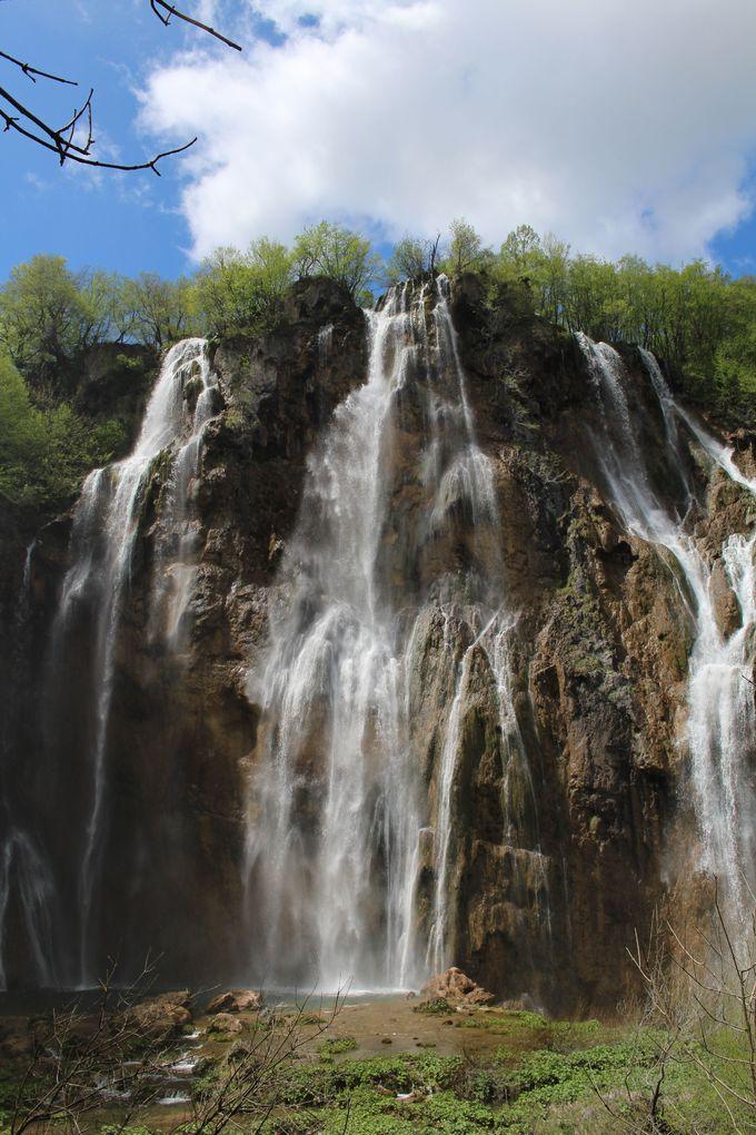 下湖群最大のみどころ「ヴェリキ滝」