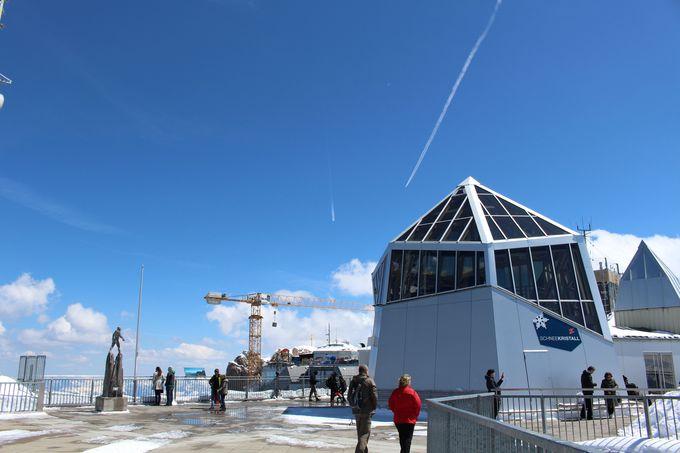 360°どこを見ても美しい山頂の展望台