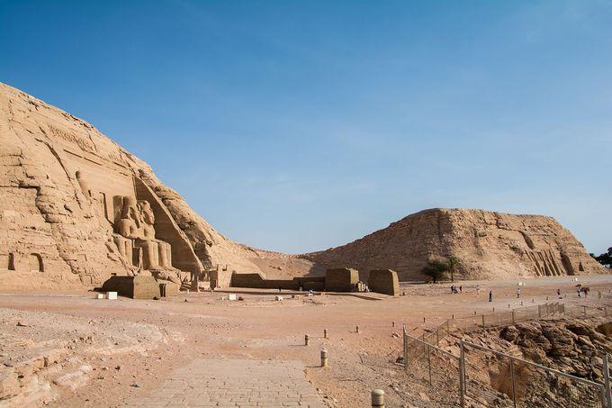 小神殿と大神殿からなる二つの神殿