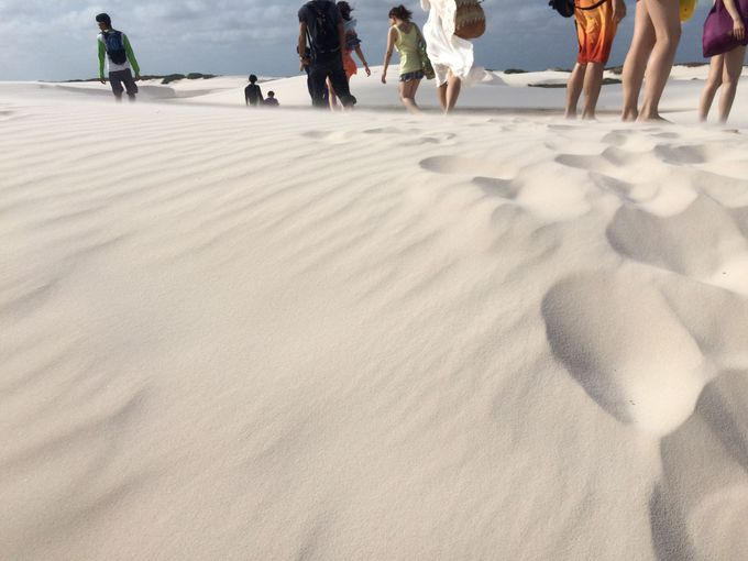レンソイスの砂は格別!
