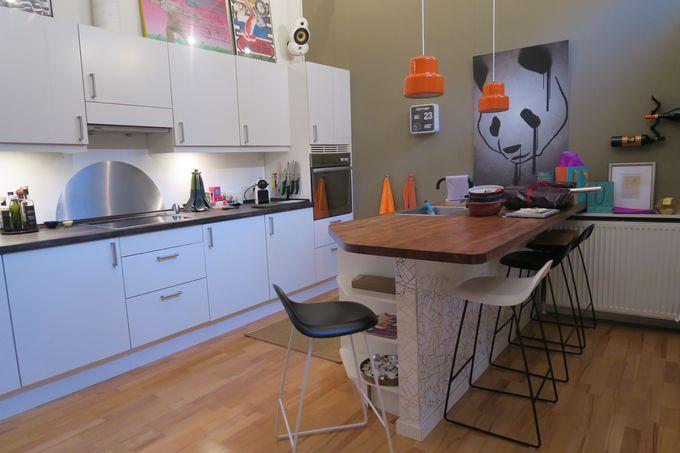 モダンアートに囲まれたコペンハーゲンらしいステキなお家
