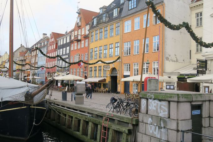コペンハーゲンを自転車でぐるっと一周