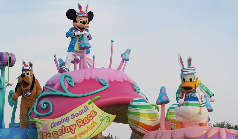 春爛漫!東京ディズニーランド「ディズニー・イースター2016」でうさぎに変身して心もジャンプ!