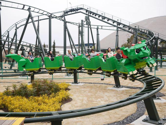世界中のレゴランド(R)で人気のアトラクション「ザ・ドラゴン」