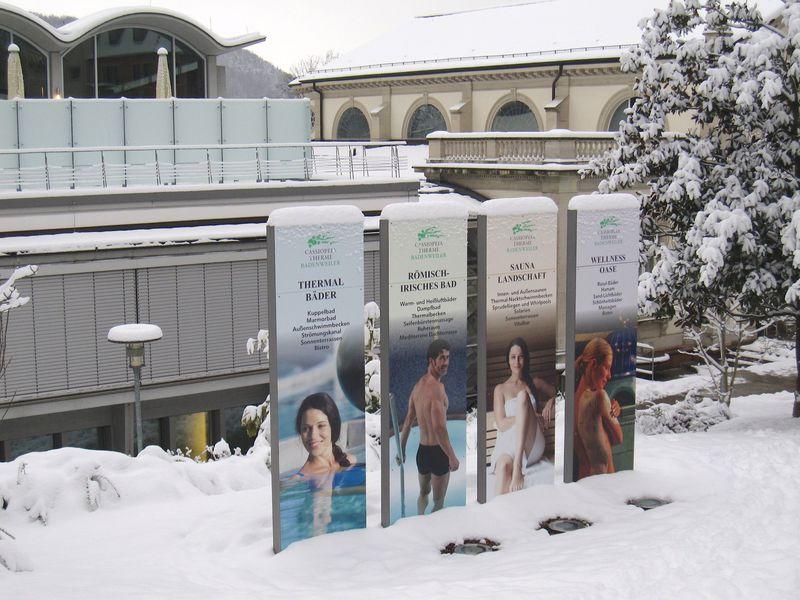 ドイツ、黒い森の歴史ある温泉 〜カシオペア・テルメ