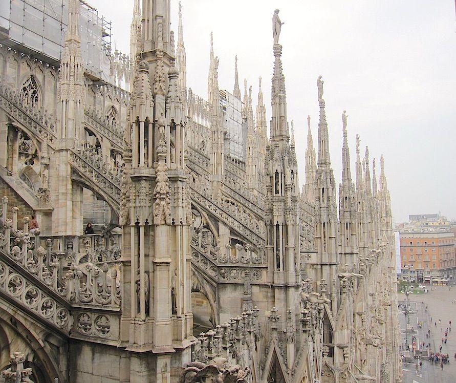 3.ミラノのドゥオモ/イタリア