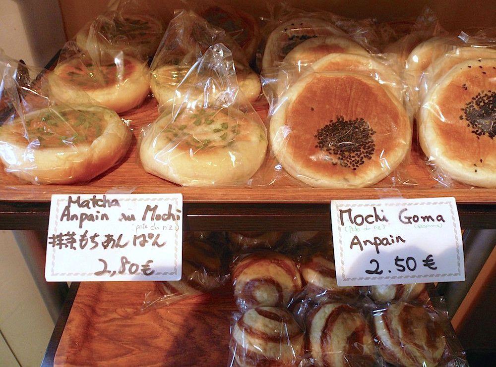 魅力いっぱいのパリの日本のパン屋さん