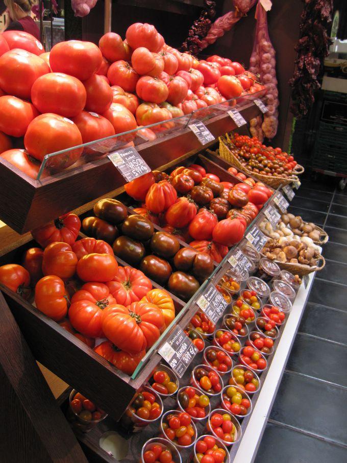 さすがはトマト王国、トマトだけでもこんなに!