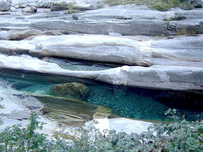 冷たい水が気持ち良い!地元人の夏の避暑地