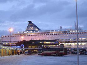 北欧船の旅、シリヤラインでヘルシンキからストックホルムへ