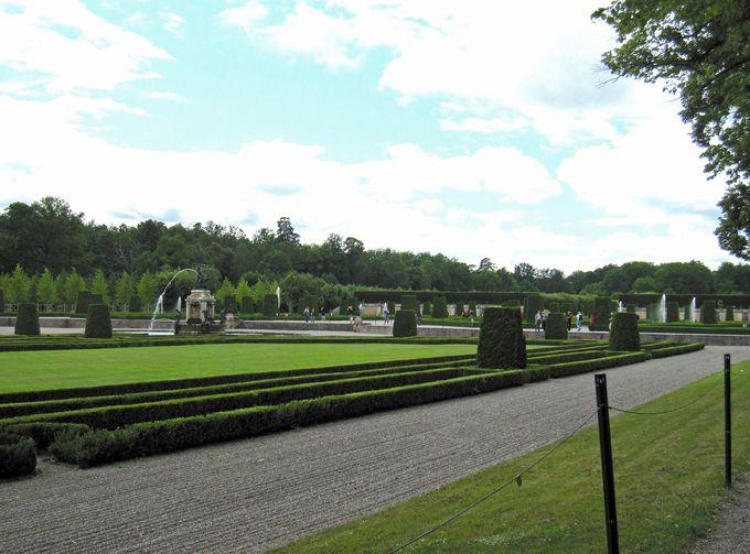 築造された当初のままの姿を残す美しき庭園