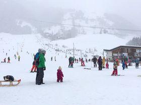 チューリッヒから日帰り可!エンゲルベルクでスキー&スノボ