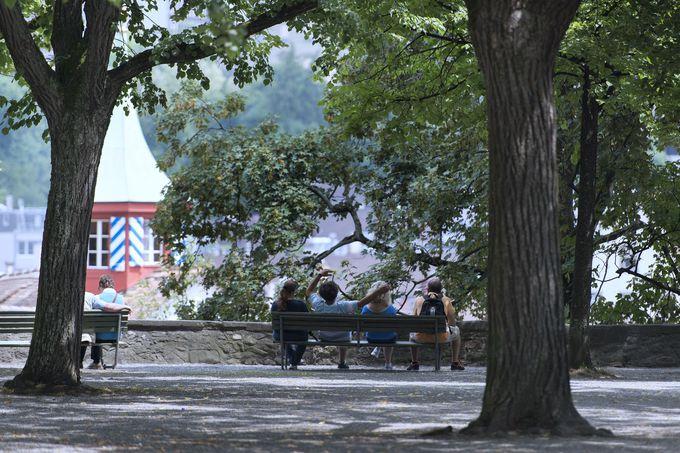 午前の観光 〜チューリッヒの発祥の地・リンデンホーフの丘