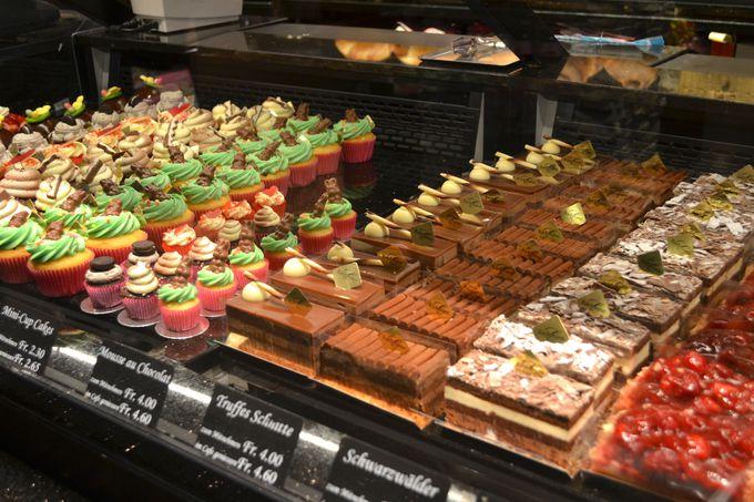 バッハマン・カフェで美味しいケーキを堪能する