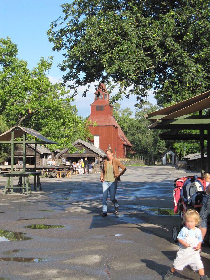 午後の観光2.ローゼンダルス・ガーデンとスカンセン野外博物館