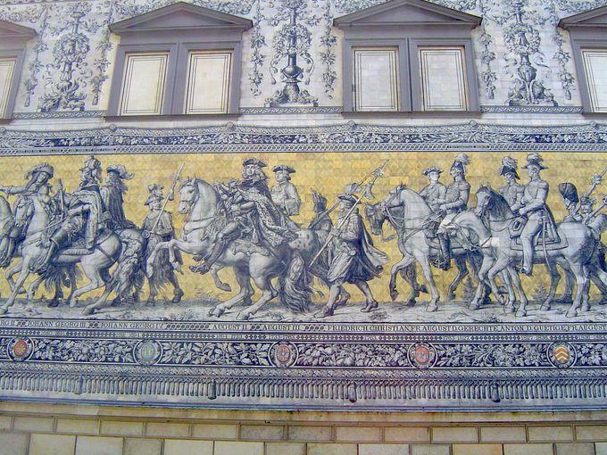 先ずはドレスデン城へ