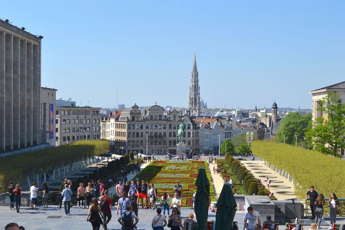 芸術の丘からブリュッセルの街の眺望を見下ろそう!