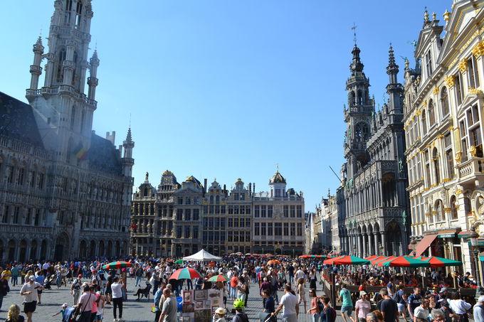 ブリュッセルの世界遺産「グラン=プラス」
