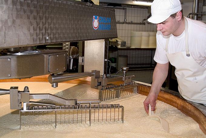 いざ、チーズ工場「ラ・メゾン・デュ・グリュイエール」へ