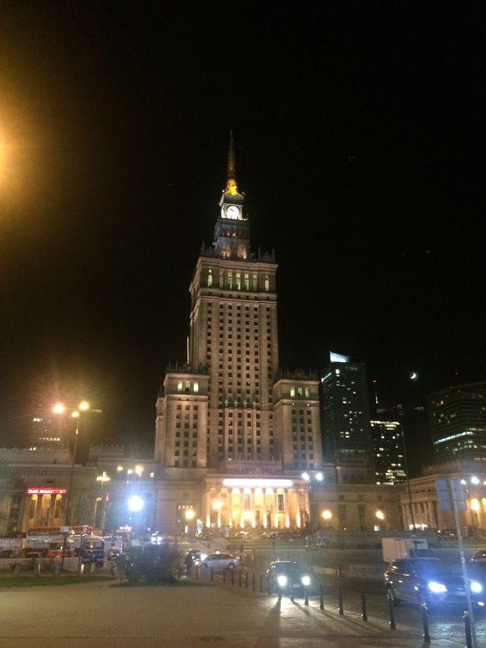 東欧ならではの静かな夜景を楽しもう