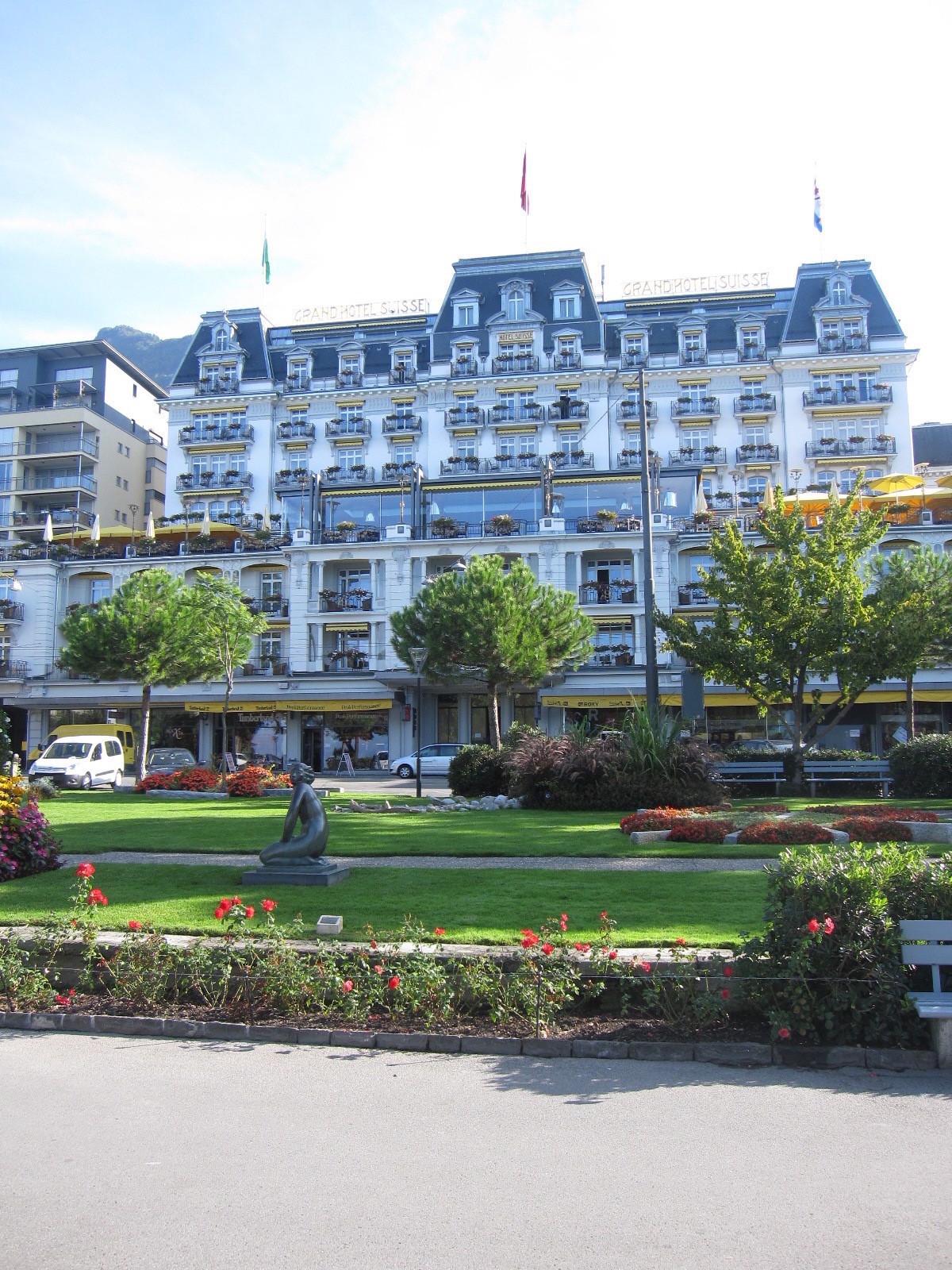 5つ星ホテル「フェアモント・ル・モントルー・パレス」