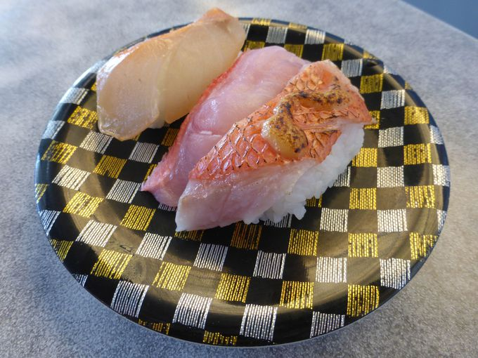 「回転寿司 魚どんや」で味わう地金目三昧!