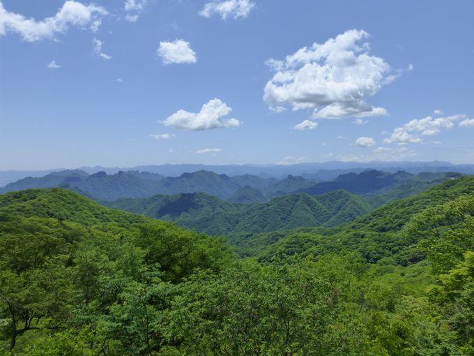 群馬県と長野県の境にある旧碓氷峠見晴台