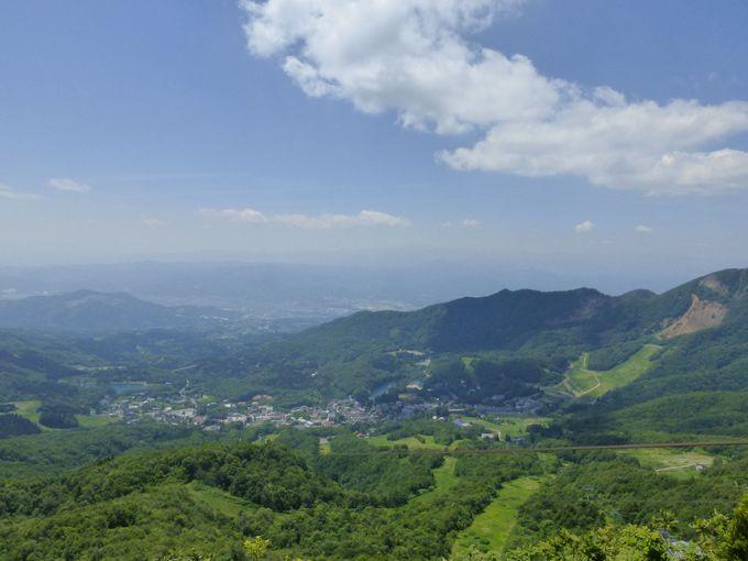 蔵王中央ロープウェイで標高約1300mの蔵王中央高原へ!