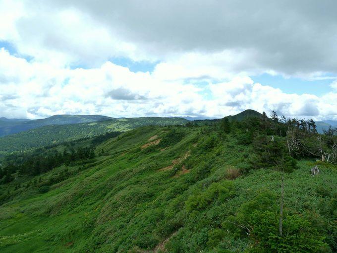 八幡平アスピーテラインのピークへ!見返峠から見る絶景