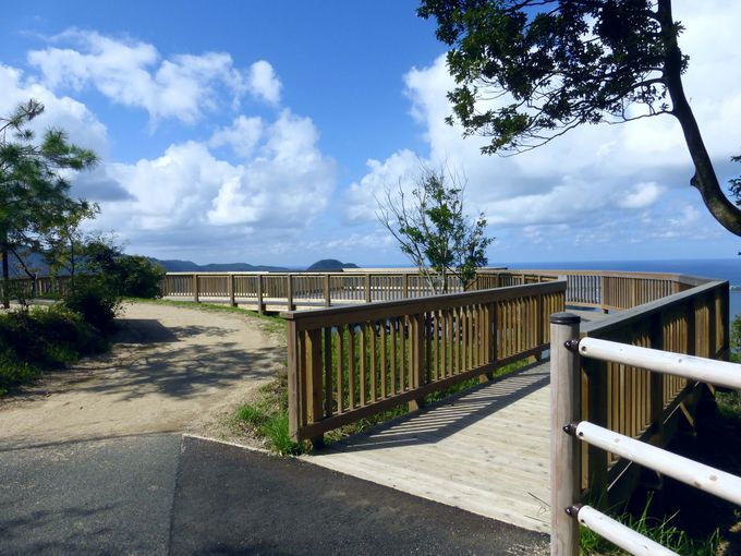 これがかぶと山展望台から見た久美浜湾の絶景だ!
