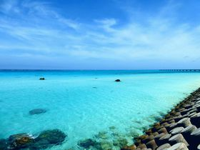 宮古島市「下地島」の絶景ビーチ!17エンド&中の島ビーチ