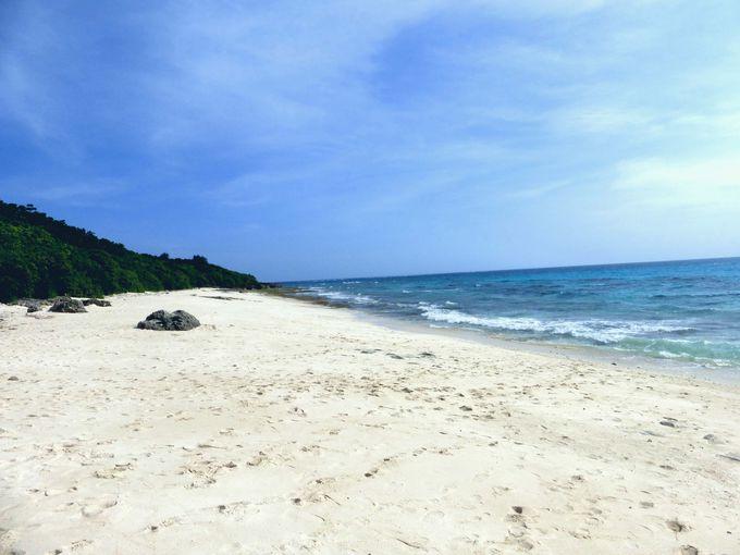 来間島おススメの穴場ビーチ!島の西側に広がる長間浜