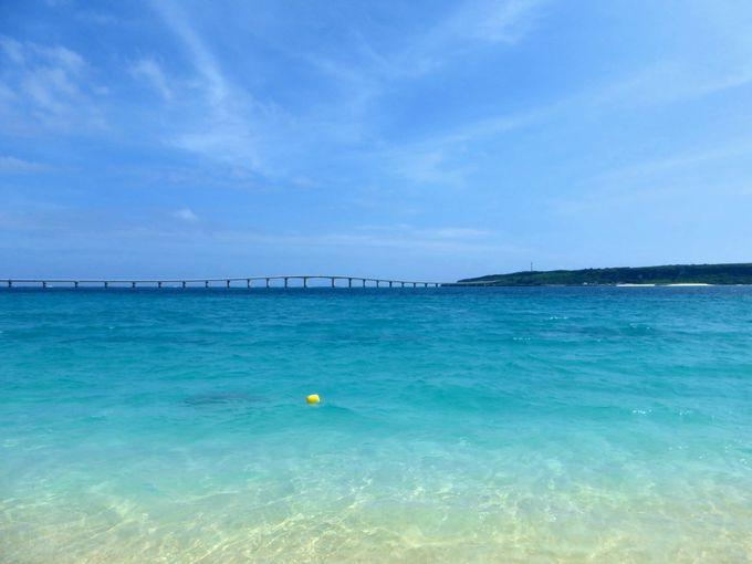 来間島を訪れる際には、与那覇前浜ビーチにも寄ってみよう