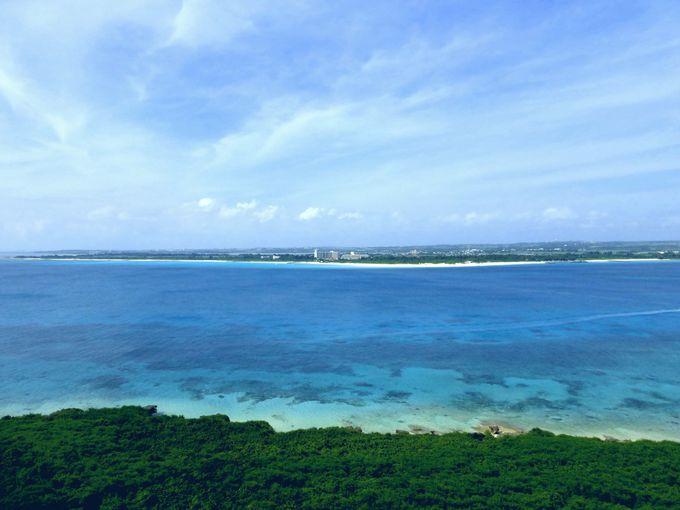 来間島に来たら絶対に見て欲しい絶景スポット!竜宮城展望台