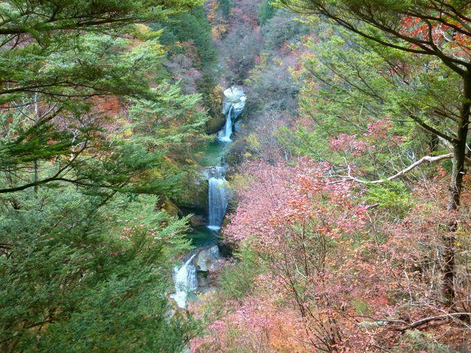 尾白川渓谷最大の見どころ!神蛇滝(じんじゃだき)