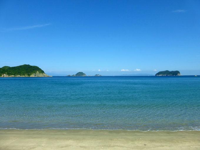 上甑島自慢の海の透明度を体感するならココ!市の浦海水浴場