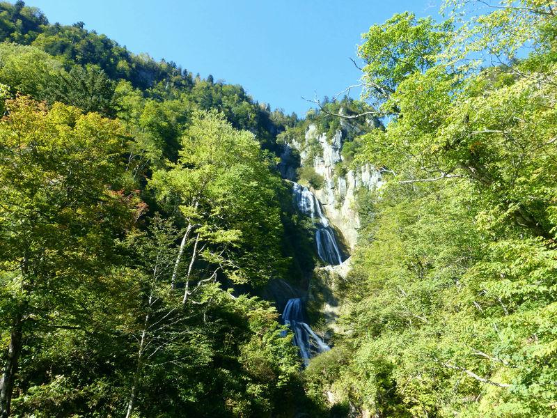 緑が美しい天人峡&羽衣の滝!雄大な大雪山の自然に抱かれて…