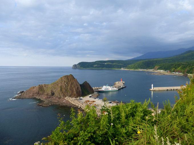 オホーツクの海の景色も素晴らしいオロンコ岩展望台!