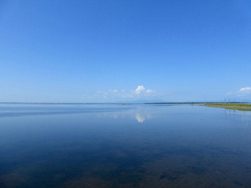 鏡のような海を堪能!道東・野付半島「トドワラ」ネイチャーウォーク