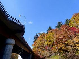 北海道・恵庭渓谷で絶景紅葉狩り!札幌から日帰りでも楽しめる!