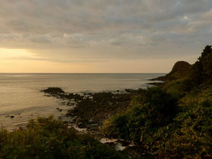 秘密は夕焼け色に染まる空とオホーツクの海にあり!