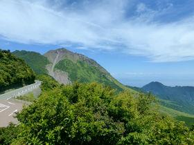 長崎最高峰!雲仙岳を望む「仁田峠第二展望所」&「島原まゆやまロード」